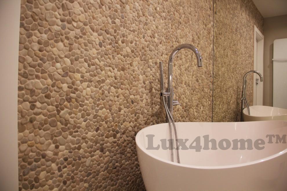 Lux home umywalki kamienne wanny z kamienia otoczaki kamień