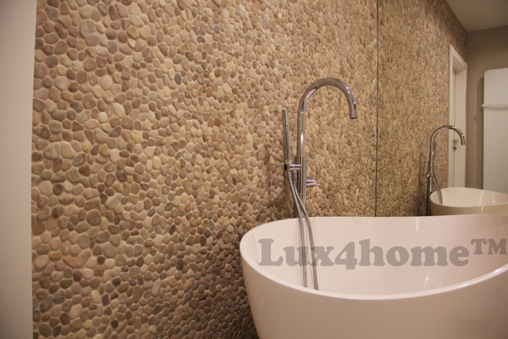 Lux4home Umywalki Kamienne Wanny Z Kamienia Otoczaki